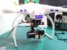 Zhiyun Z1 Tiny2 - DJI Phantom Mount (1&2) 3d printed Picture shoes Ultimaker prototype on Phantom 1 with Wide & Tall landing gear