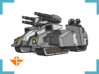 """""""Harbinger"""" Supertank 10mm (Available in color!) 3d printed"""