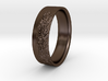 The Alps Ring 3d printed