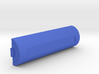 Battery keychain 3d printed