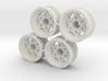 "Rim Walker Evans 1/4"" offset - Losi McRC/Trekker 3d printed"