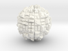 Ghost Sphere (field ghost town) 3d printed