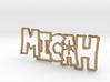 Micah Spark Keychain 3d printed