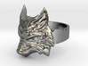 Fenrir - Norse Wolf Ring - Size 8 3d printed
