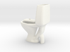 Miniature Toilet Seat A 1/12 3d printed