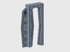 YT1300 DEAGO HALL SLIDING DOOR 3d printed Falcon DeAgo hall sliding door kit, render.