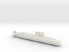 Lada-Class Submarine, Full Hull, 1/2400 3d printed