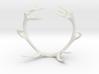 Red Deer Antler Bracelet 60mm 3d printed