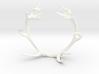 Red Deer Antler Bracelet 55mm 3d printed