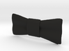 Bow Tie Inexpensive 3d printed Black Bow Tie (Clip On)