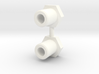 Bell Crank Nuts 3d printed