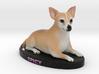 Custom Dog Figurine - Spicy 3d printed