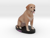 Custom Dog Figurine - Labby 3d printed