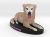 Custom Dog Figurine - Shadow 3d printed