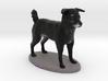 Custom Dog Figurine - Dudley 3d printed