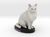 Custom Cat Figurine - Sweetie 3d printed