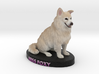 Custom Dog Figurine - Foxy 3d printed