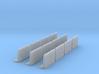 12 Concrete Bridge Sections - N Scale 3d printed