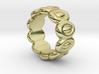 Elliptic Ring 33 - Italian Size 33 3d printed