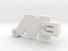 Key Ring M3 3d printed