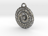 Sun Mandala Medalion  3d printed
