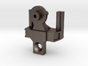 metal HO articulated joint for 48' spine car 3d printed