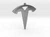 Tesla Keychain 3d printed