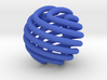 Figure-8 knot sphere 3d printed