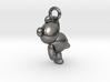Teddy Bear Pendant - 3cm 3d printed