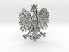 Polish Eagle Pendant 3d printed