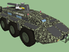Military Truck 3d printed