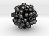 Metaball pendant 3d printed
