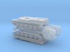 French AMX-50 medium Tank (early) 1/285 6mm 3d printed