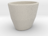 Espresso Cup - Oval - Cup (repaired) 3d printed