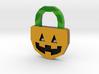 Halloween Pumpkin - Necklace 3d printed