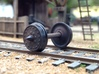 "HO scale 10pc 33"" Allen Paper Wheel Inserts  3d printed"