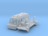 Mercedes-Benz 308 Rettungsfahrzeug (N 1:160) 3d printed
