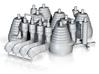 H-1 Engines (1:70 Saturn IB) SA-203 thru SA-210 3d printed