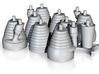 H-1 Engines (1:72 Saturn I & IB) SA-1 thru SA-202 3d printed