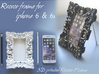 Iphone6 Rococo Frame Section 3d printed