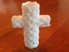 Woven cross 3d printed