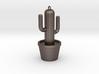 Cactus Keyring 3d printed