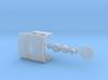 FEC 4-6-2 wood cab and boiler details - HO scale 3d printed