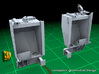 IDF M2 External Fueltanks (1:35) 3d printed IDF M2 external fueltanks - hollow design to reduce cost