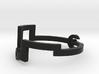 Link [Bangle Bracelet ∅ 6 cm] 3d printed