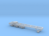 1/87th Heavy tridem drive truck frame chassis 3d printed