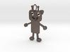 Robot girl keychain 3d printed