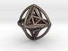 Double Octahedron with included Icosahedron 3d printed