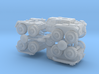 US XM808 Twister Scout Vehicle 1/285 6mm 3d printed