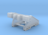 Modern N gauge 148th scale Buffers 3d printed Frosted Ultra Detail render